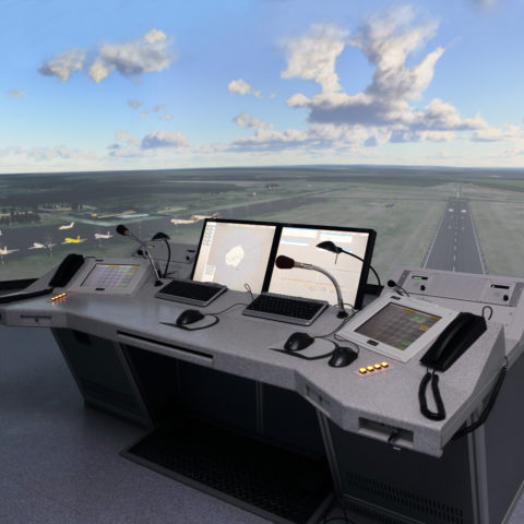 DELIVERY OF EXPERT ATC SIMULATOR TO YEKATERINBURG CONSOLIDATED CENTER