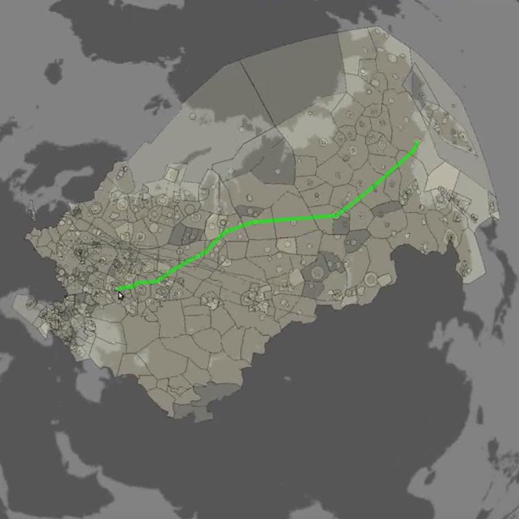 PLANETA Flight Data Processing System