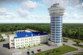 Красноярский ЦОВД - Технологическое здание УЦ и КДП