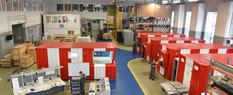 Заводские испытания в рамках проекта Красноселькуп