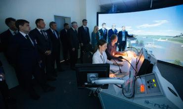 Дмитрий Медведев торжественно открыл Новосибирский укрупненный центр
