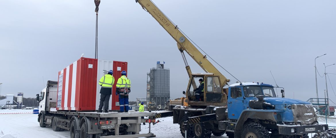 Modular Tower delivered to Tobolsk airfield