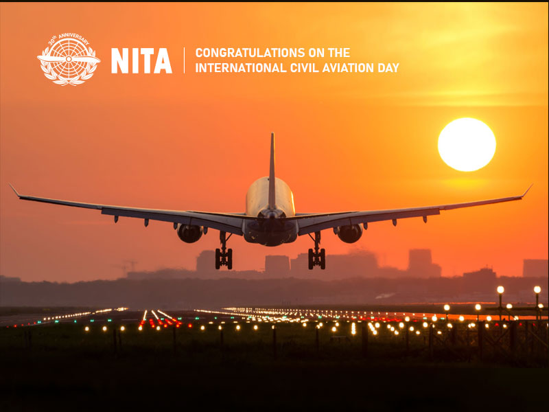 Congratulations on the International Civil Aviation Day!