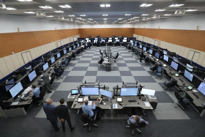 Открытие Минского центра управления воздушным движением